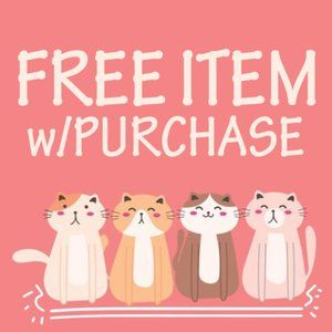🐸FREE ITEM w/PURCHASE🐸 Just Request It